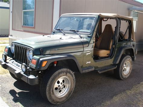 1998 Jeep Specs Bubbaedc 1998 Jeep Tj Specs Photos Modification Info At