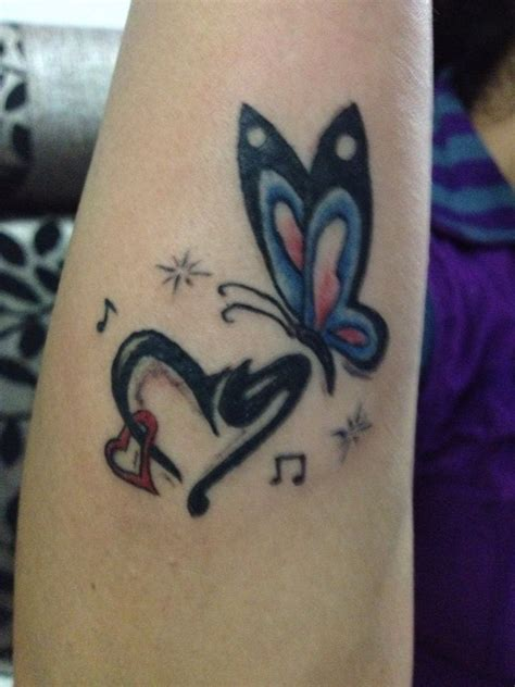 tattoo butterfly with initials 26 best images about tattoo work on pinterest sword