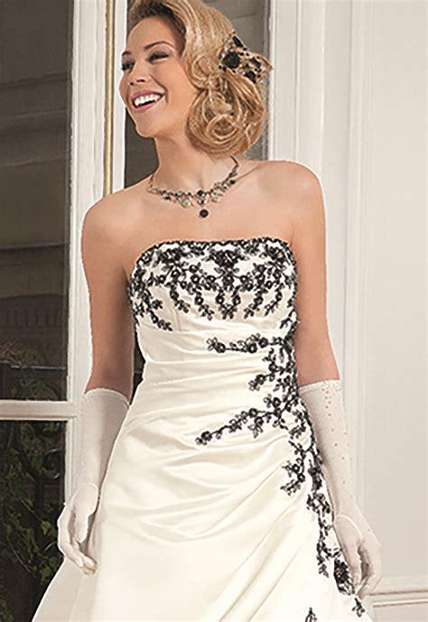 Robe De Mariée Noir Et Blanc Pronuptia - robes de mari 233 e 2017 robe de mari 233 e