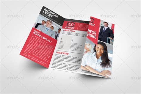 gate fold brochure template indesign business brochure gate fold template quot alphabiz quot by bagera