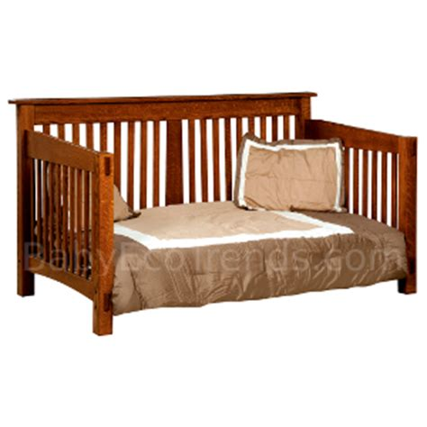 Baby Day Bed by Usa Made Amish Children S Furniture Amish Mccoy Day Bed