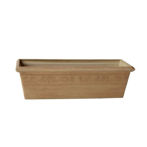pennington 24 in x 7 in wood window box 100045124 the