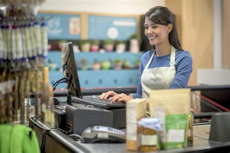 image gallery store cashier