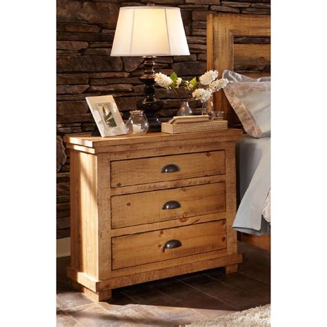 willow bedroom furniture distressed pine bedroom furniture willow distressed pine nightstand progressive furniture