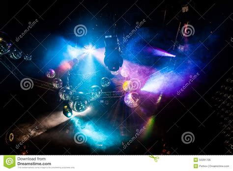 illuminations laser light show disco light show stage lights stock photography