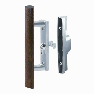 Locks For Sliding Glass Doors Home Depot Prime Line Universal Sliding Glass Door Lock Kit C 1018 The Home Depot