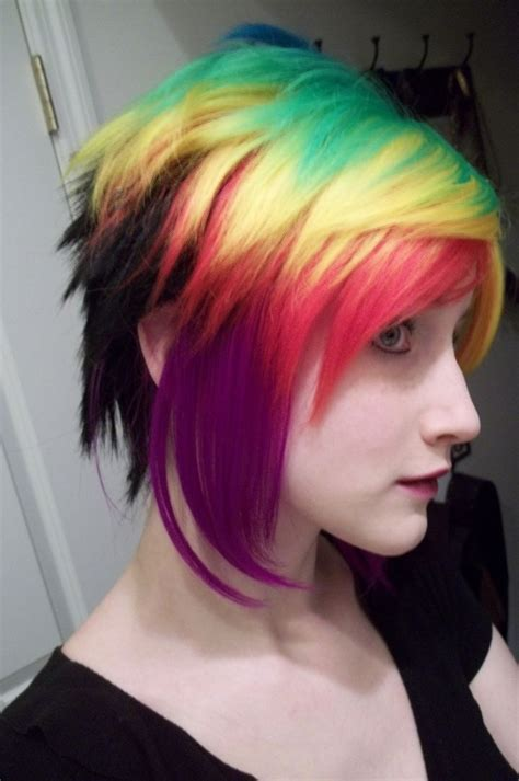 colored hair 549 best haircolor images on colourful