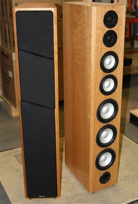 axiom m100 floor standing speakers review