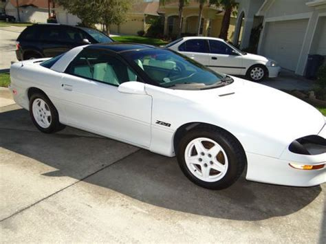 1997 camaro z28 anniversary edition buy used 1997 cevy camaro z28 30th anniversary edition in