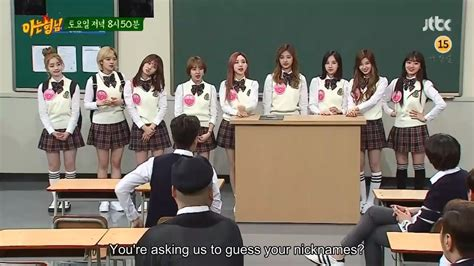 knowing brother twice 트와이스 eng sub twice knowing brother preview
