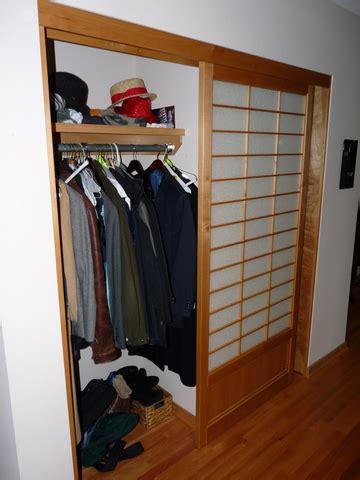 portland shoji screen installing a closet door package
