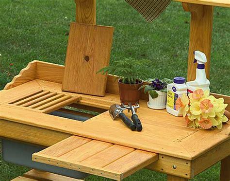 cypress potting bench cypress potting bench