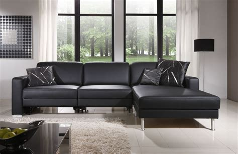 salon avec canapé d angle salon gris cocooning