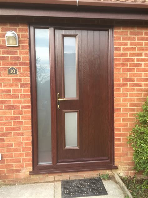 upvc doors rhino building solutions - Brown Doors Upvc
