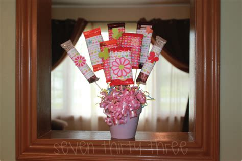 How To Make A Bar Bouquet In A Vase by Make A Bar Bouquet Dollar Store Crafts