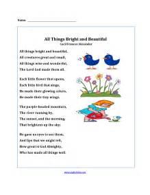 pictures on free poetry worksheets math worksheet storage