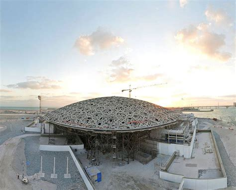 saadiyat the architectural headquarters of today design construction of jean nouvel s louvre abu dhabi well underway