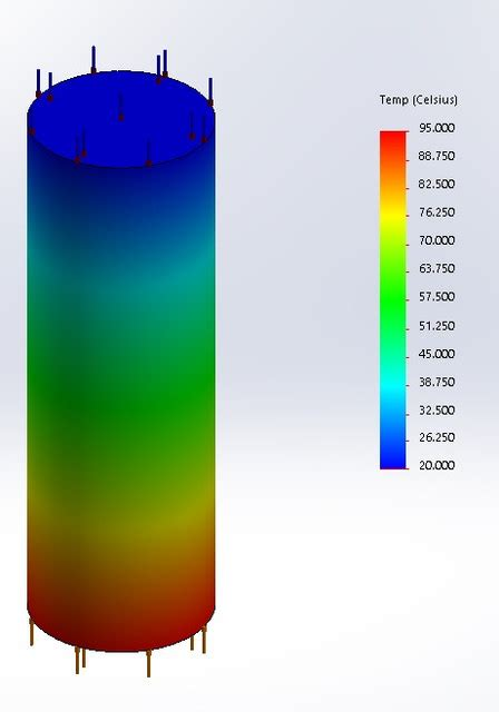 solidworks tutorial heat transfer rate of heat transfer through the rod cengel 2 57