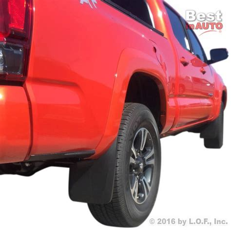 Limited Mud Guard All New Avanza All New Xenia Terpopuler toyota tacoma mud flaps 2016 2017 mud guards splash flares molded 2 rear ebay