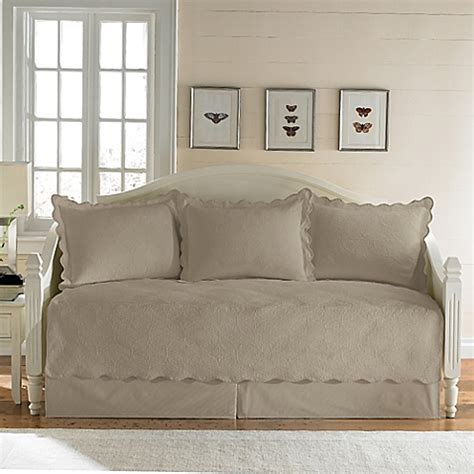 daybed coverlets sets matelasse daybed bedding set in taupe bed bath beyond
