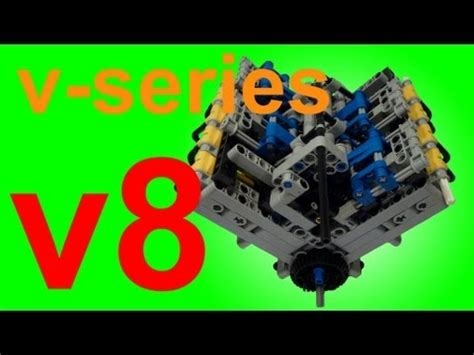 lego engine tutorial incredible v8 and v10 lego engines running on air