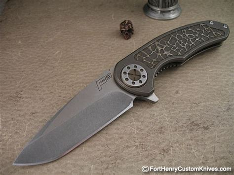 Grip Karet 3 Tone Fast Rider curtiss knives custom carved f3 flipper fort henry