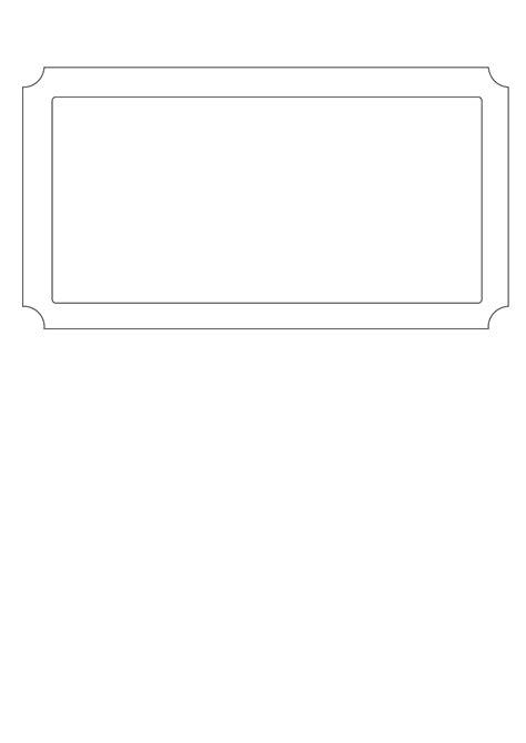 Free Printable Golden Ticket Templates Blank Tickets Tickets Mughals Blank Ticket Template