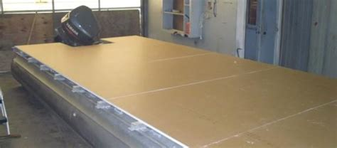 deck your boat pontoon boat decks composites aluminum or wood