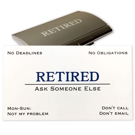Retired Business Cards Templates by Retired Business Cards Choice Image Business Card Template