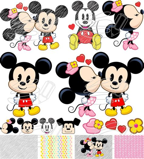 Mickey Minie mickey minnie vetores imagens no elo7 mr designer 8ee141