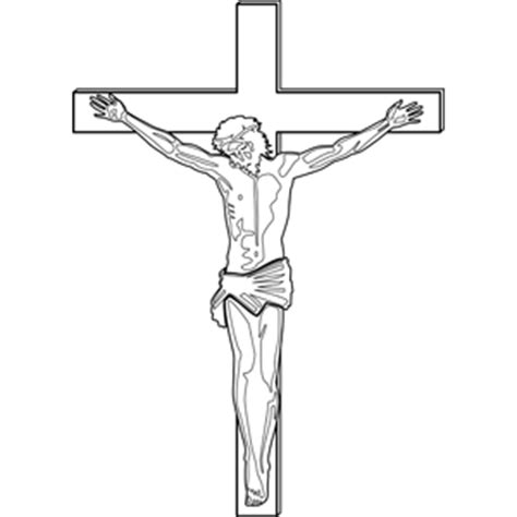 coloring page of jesus crucifixion jesus crucifixion coloring page