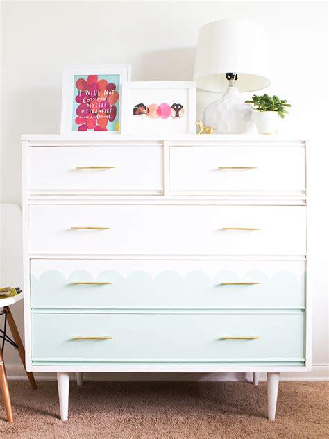 Modern Tallboy Dresser by Mid Century Modern Tallboy Dresser Chalk Paint Makeover