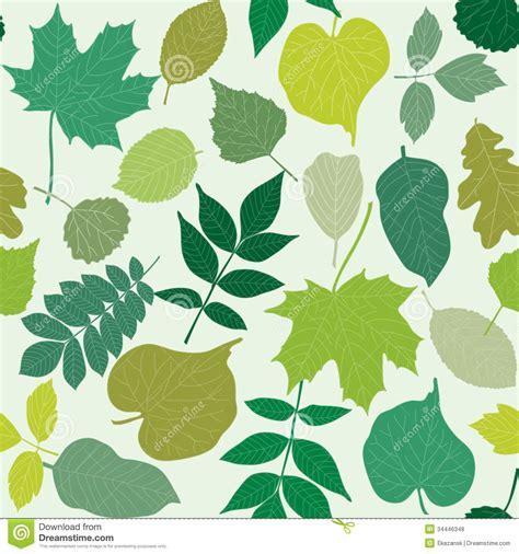 pattern bush leaf green tree leaves seamless pattern royalty free stock photos