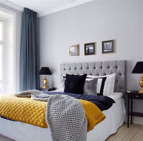 Grey Yellow Blue Bedroom by Best 25 Navy Gold Bedroom Ideas On Blue And