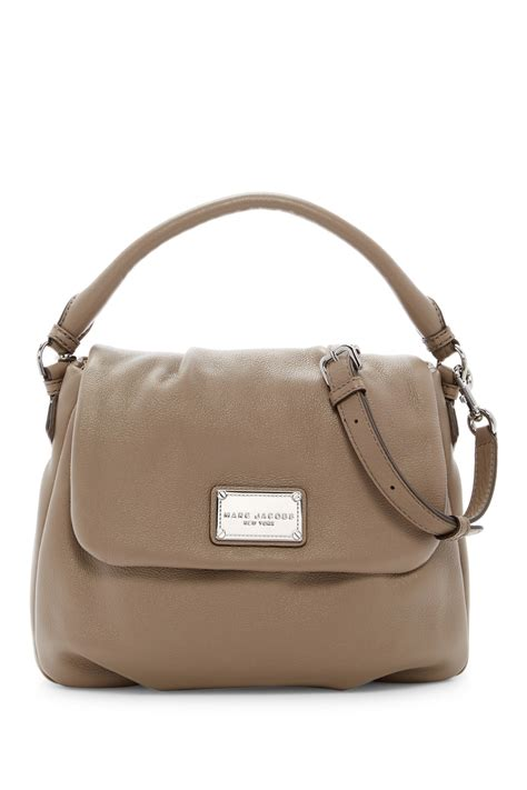 Purse Deal Marc Leather Shopper Tote by Marc By Marc Classic Leather Shoulder Bag