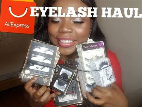 aliexpress eyelashes haul aliexpress eyelashes review