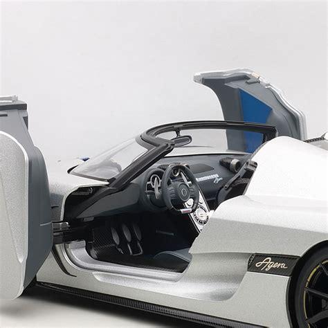 koenigsegg grey koenigsegg agera disc silver gray auto art touch