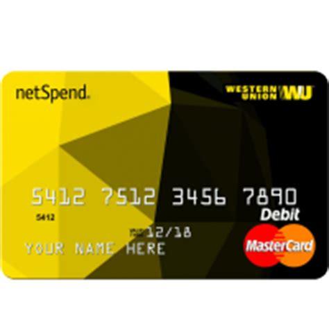 Western Union Mastercard Gift Card - western union 174 netspend 174 prepaid mastercard 174