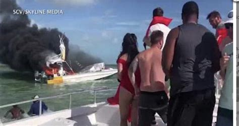 boating accident exuma bahamas boat explosion in bahamas kills one american tourist