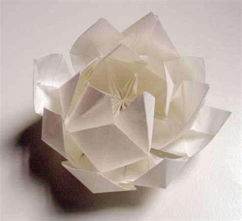 Paper Folding Lotus - flower lotus origami 171 embroidery origami
