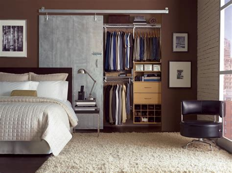 Storage Solutions For Small Bedrooms 15 cute closet door options hgtv