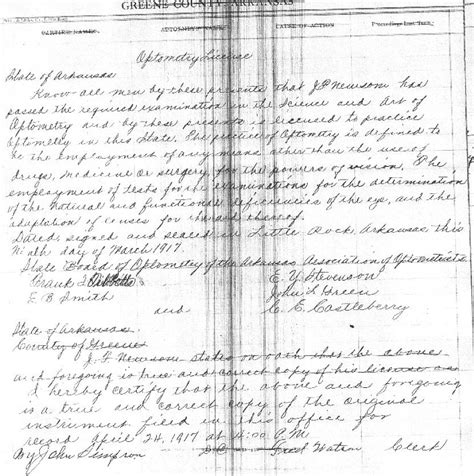 Arkansas County Court Records Greene County Arkansas J F Newsom