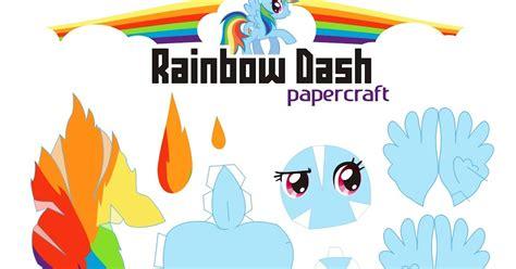 Rainbow Dash Papercraft - papercraft pony web wanderers