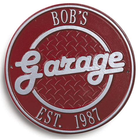 bob s garage plaque at what on earth cb6262