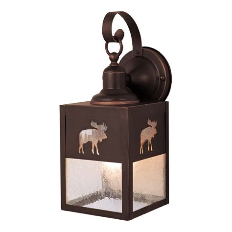 Timberland Outdoor Lighting by Rustic Ls Timberland Outdoor Hanging Wall L Black