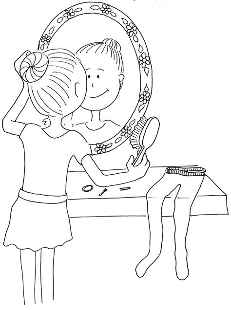 Hair Coloring Tools Coloring Pages Coloring Pages Hair