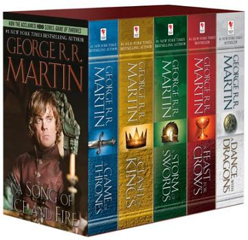 10 book series that aren t a song of and of thrones 5 book boxed set song of and