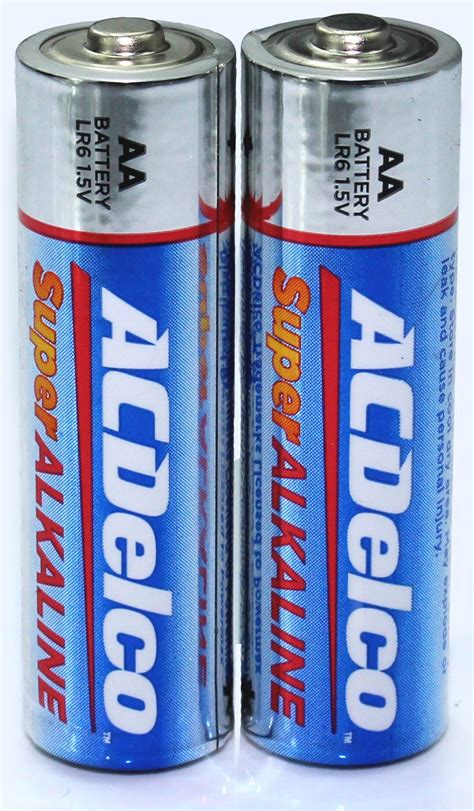 100 count aa batteries acdelco alkaline aa batteries 100 count