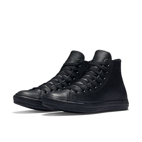 converse chuck all high top sneakers new converse chuck all leather high top shoes