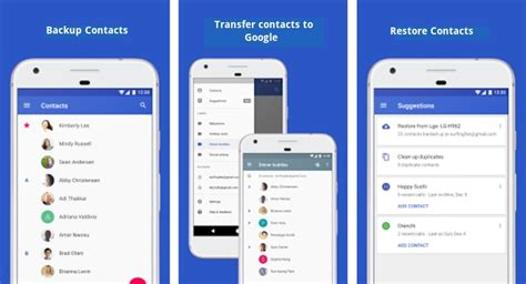reset android keep contacts keep phone contacts safe backup restore transfer to